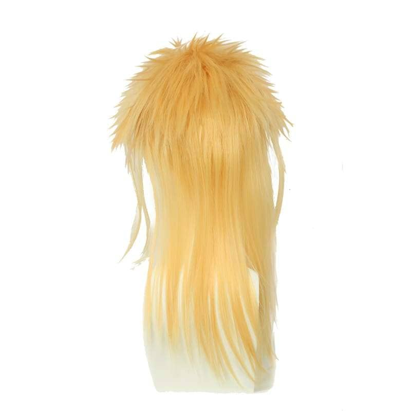 Labyrinth Jareth Particular Hairstyle Wig Long Blonde Cosplay - Wigs 4