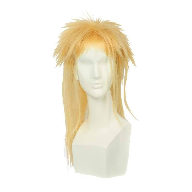 Labyrinth Jareth Particular Hairstyle Wig Long Blonde Cosplay - Wigs 1