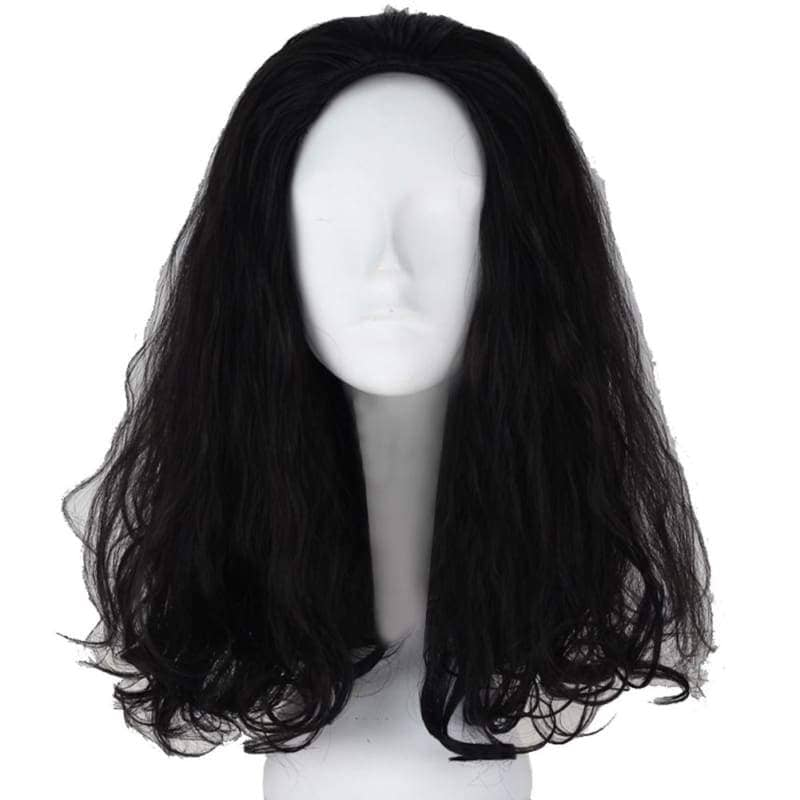 Loki Wig The Avengers Cosplay Short Black Curly With Free Cap - Wigs 1