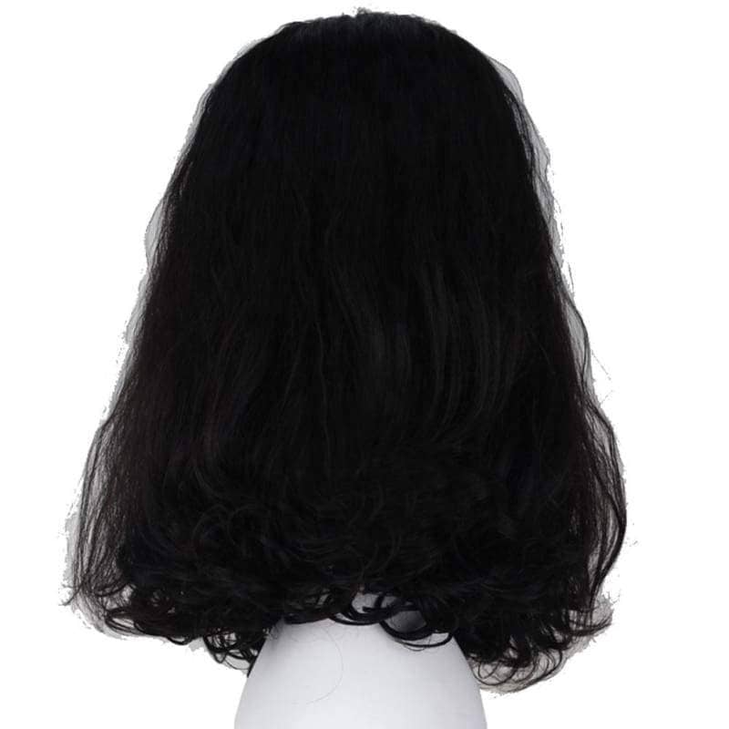 Loki Wig The Avengers Cosplay Short Black Curly With Free Cap - Wigs 2