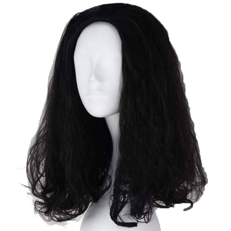 Loki Wig The Avengers Cosplay Short Black Curly With Free Cap - Wigs 3