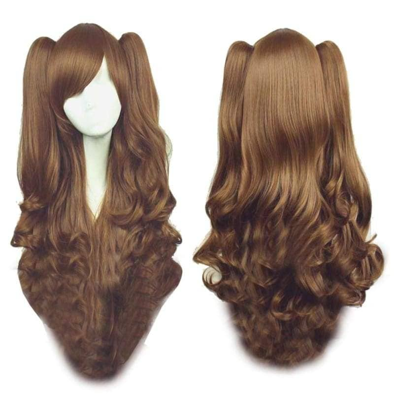 Lolita Wigs Cosplay Beautiful Long Curly Wig Various Style - 5