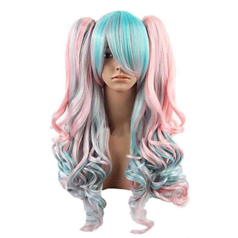 Lolita Wigs Cosplay Beautiful Long Curly Wig Various Style - 2
