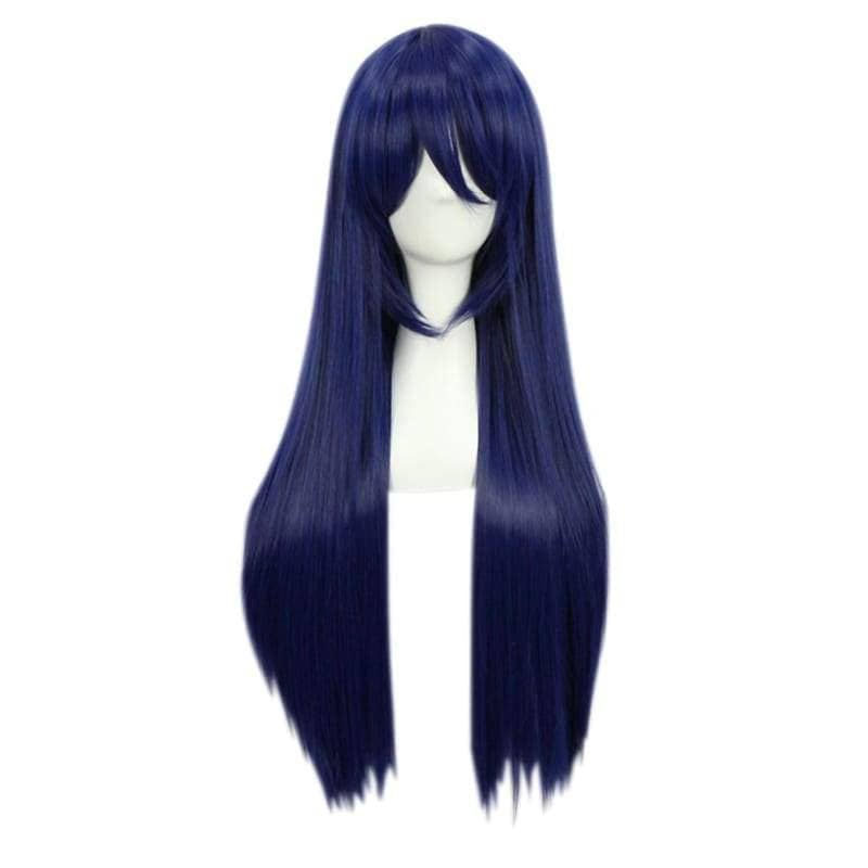 Love Live Umi Sonoda Wig Sonada Cosplay 80Cm Long Blue Black - Wigs 1