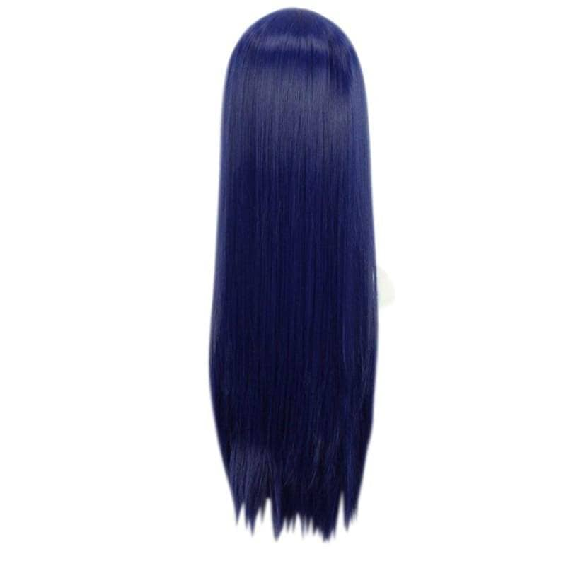 Love Live Umi Sonoda Wig Sonada Cosplay 80Cm Long Blue Black - Wigs 2