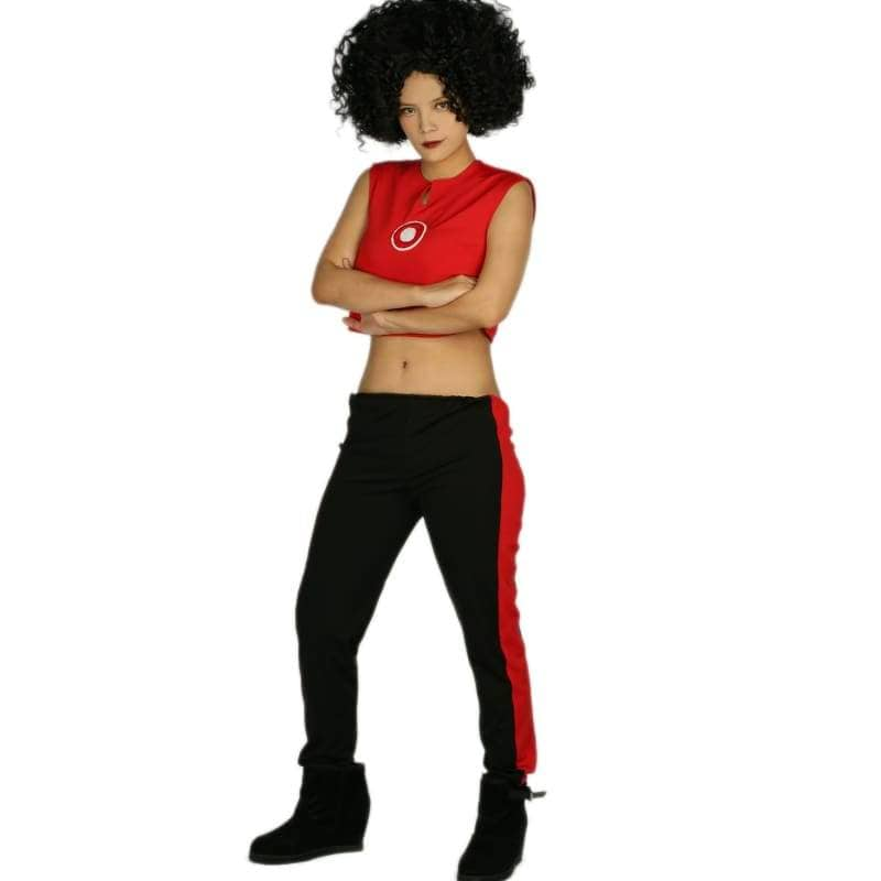 Marvels New Iron Woman Riri Williams Costume Ultra-Short Sleeveless T-Shirt With Pants Cosplay - T-Shirts 6