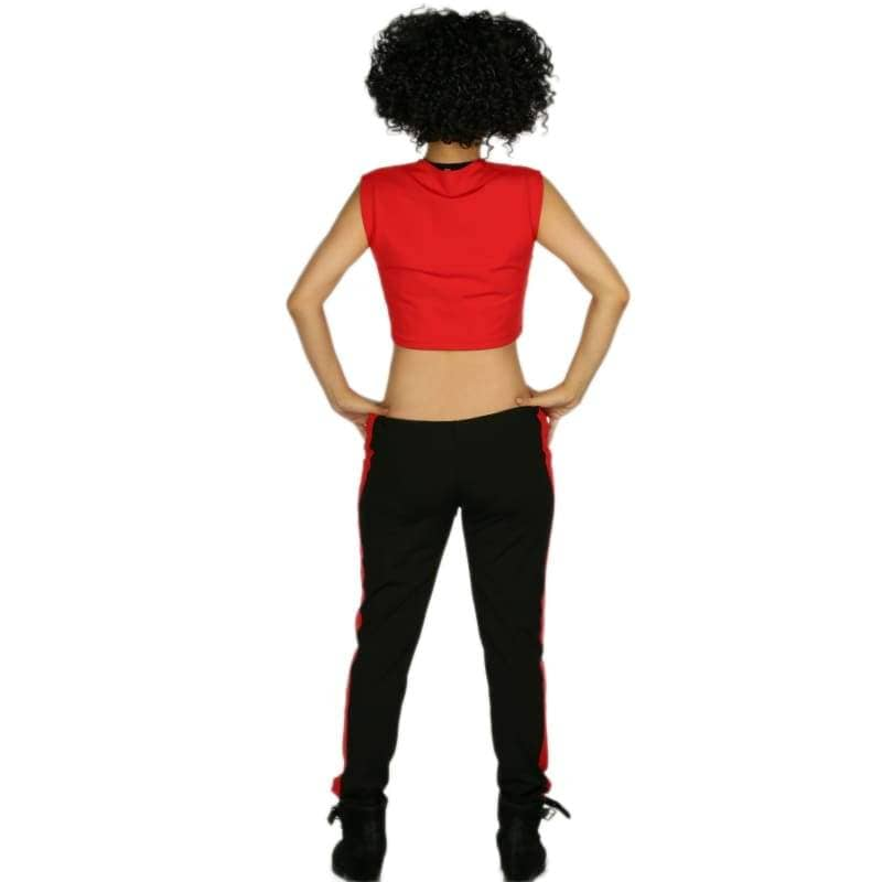 Marvels New Iron Woman Riri Williams Costume Ultra-Short Sleeveless T-Shirt With Pants Cosplay - T-Shirts 5