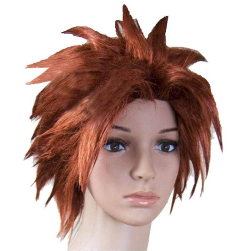 Pein Wig Naruto Orange Short Straight Cosplay Costume Party - Wigs 1