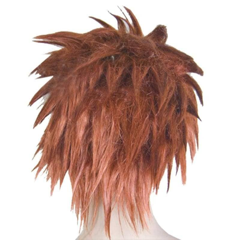 Pein Wig Naruto Orange Short Straight Cosplay Costume Party - Wigs 2