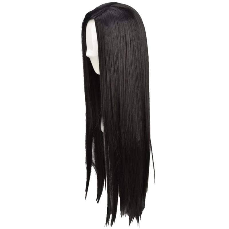 Pocahontas Wig Disney India Princess Cosplay Long Straight Black Halloween Costume - Wigs 3
