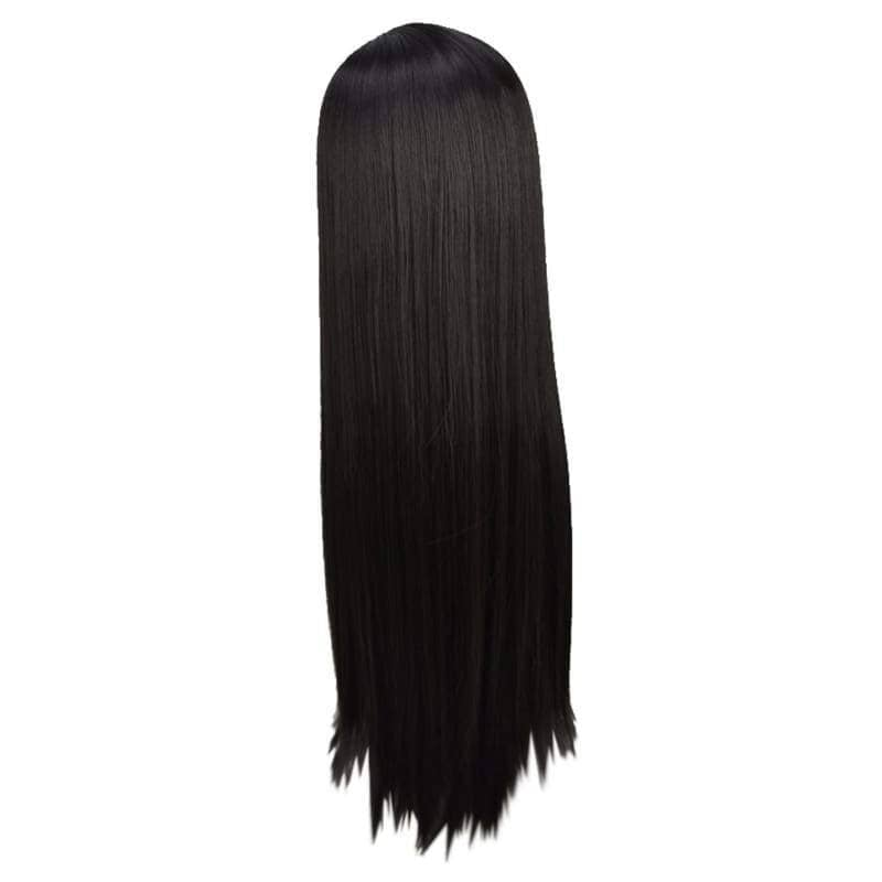 Pocahontas Wig Disney India Princess Cosplay Long Straight Black Halloween Costume - Wigs 2