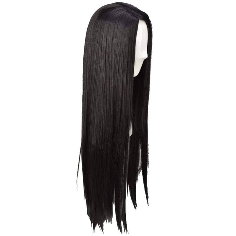 Pocahontas Wig Disney India Princess Cosplay Long Straight Black Halloween Costume - Wigs 4