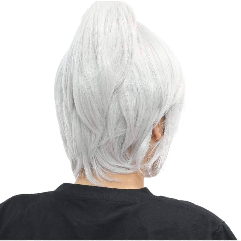 Riven Wig League Of Legends Cosplay Short Silver Grey - Wigs 2