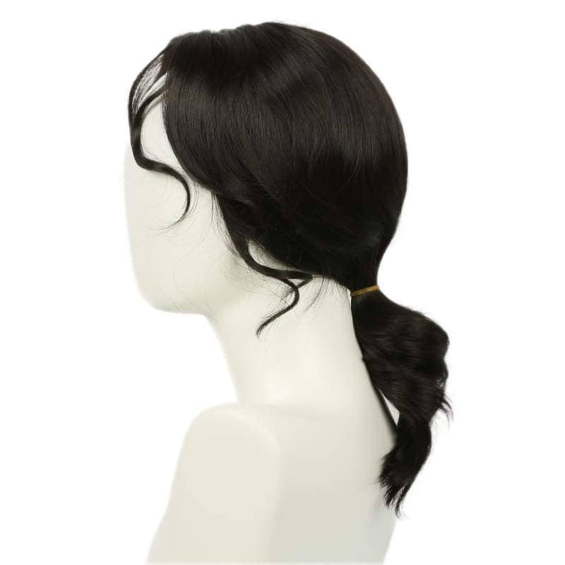 Rogue One Jyn Erso Wig A Star Wars Story Wigs Costume Cosplay Black Long Curly Wavy Hair Accessories - 3