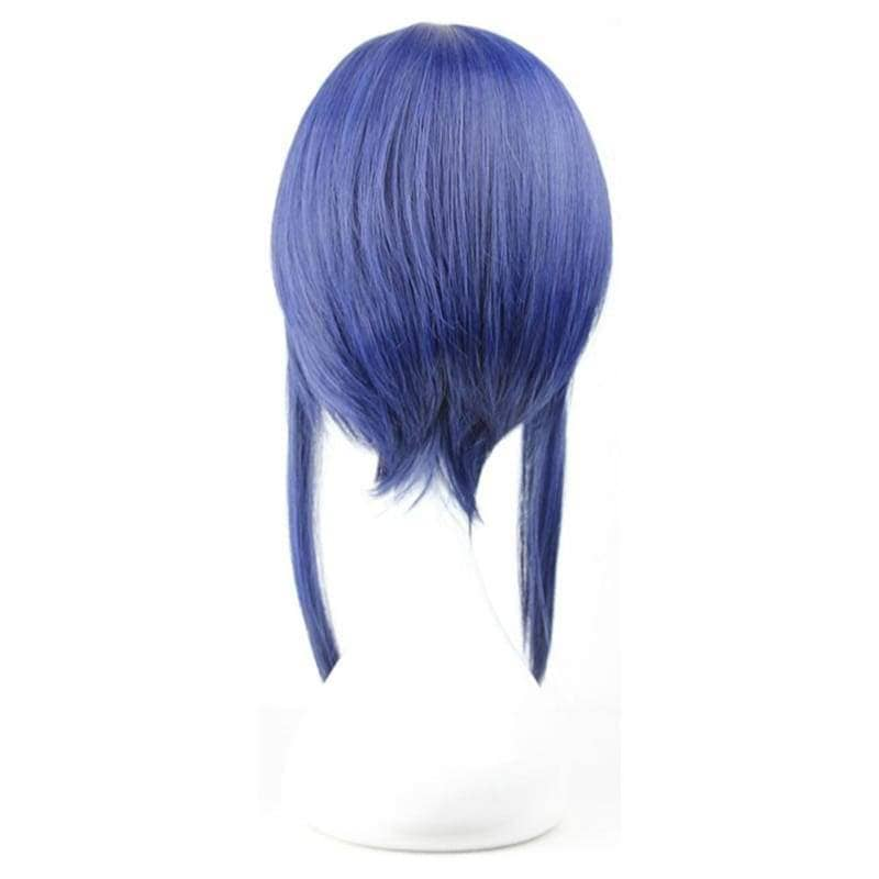 Sachi Cosplay Sword Art Online Short Straight Blue Anime Wig - Wigs 2