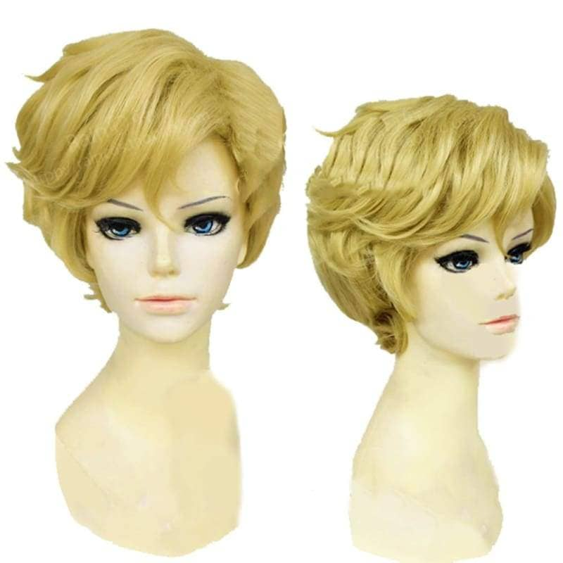 Sailor Uranus Short Curly Wig Costume Accessories - Wigs 1