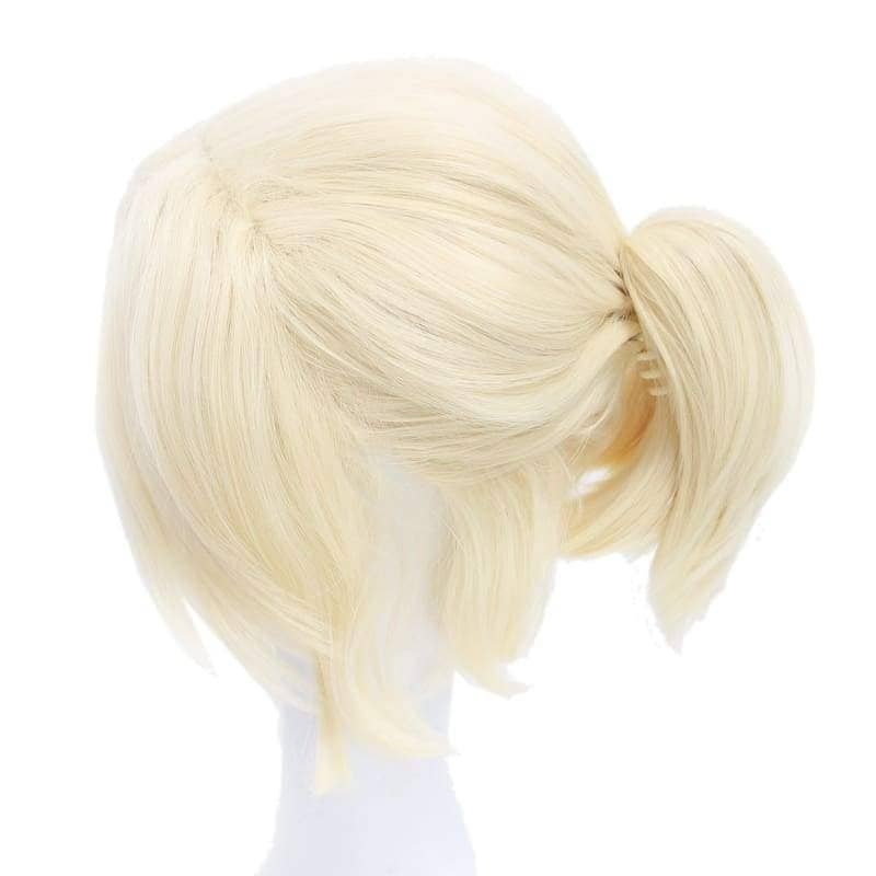 Samantha Wig Until Dawn Sam Cosplay Light Golden Hair Halloween - Wigs 4