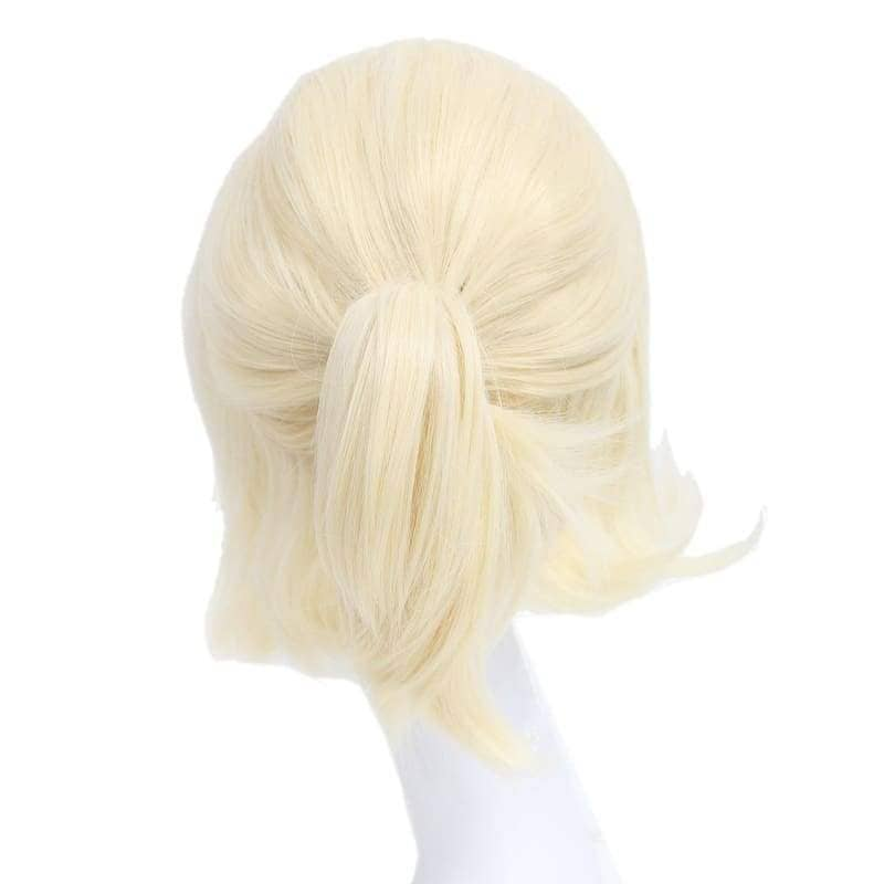 Samantha Wig Until Dawn Sam Cosplay Light Golden Hair Halloween - Wigs 2