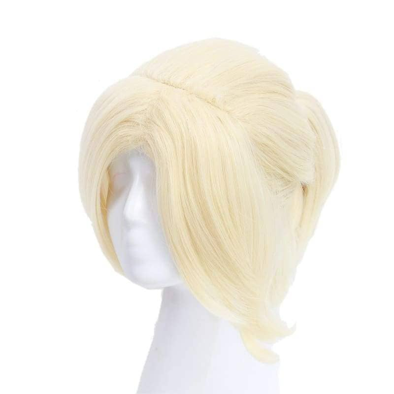 Samantha Wig Until Dawn Sam Cosplay Light Golden Hair Halloween - Wigs 3