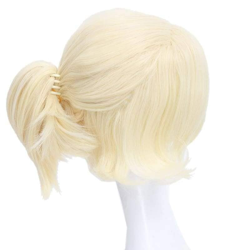 Samantha Wig Until Dawn Sam Cosplay Light Golden Hair Halloween - Wigs 5