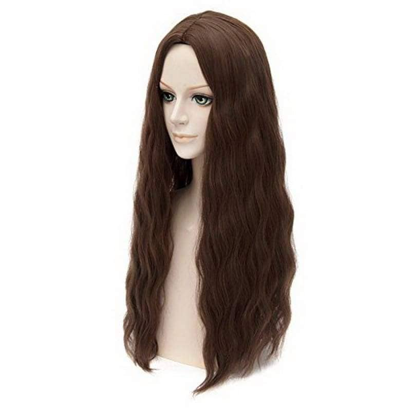 Scarlet Witch Wig The Avengers 2 Age Of Ultron Cosplay Long Wavy Dark Brown - Wigs