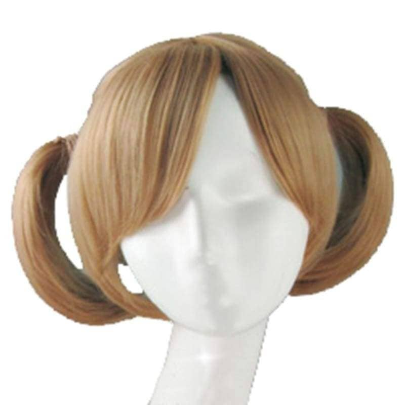 Silica Wig Sword Art Online Cosplay Short Brown With Bunches Costume Accessory - Wigs 2