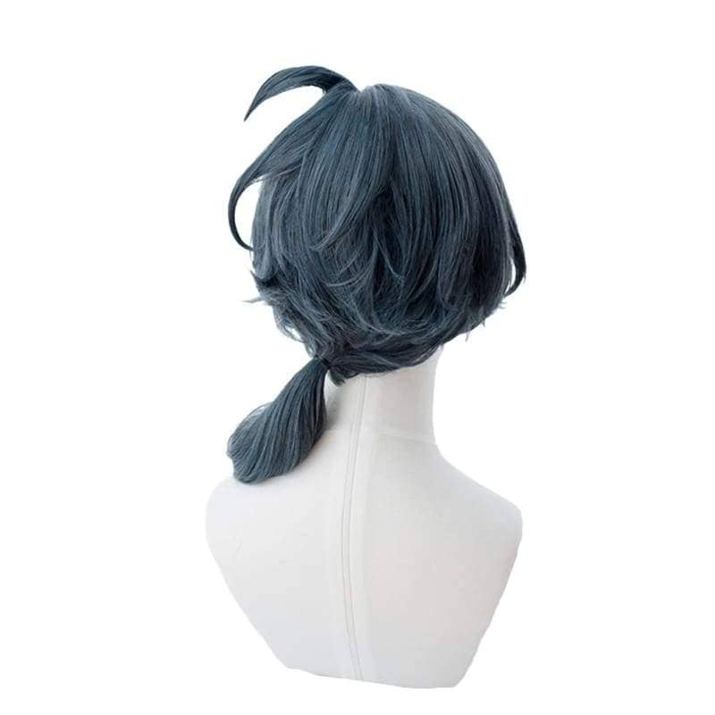 Sirius the Jaeger Yuliy short steel gray wig Wigs- Xcoser International Costume Ltd.