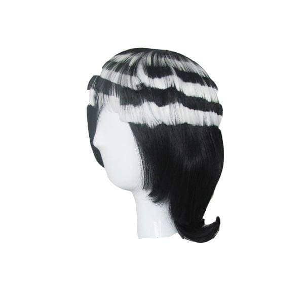 Soul Eater Death The Kid Cosplay Prop Black With White Wig Party Hair - Wigs 3