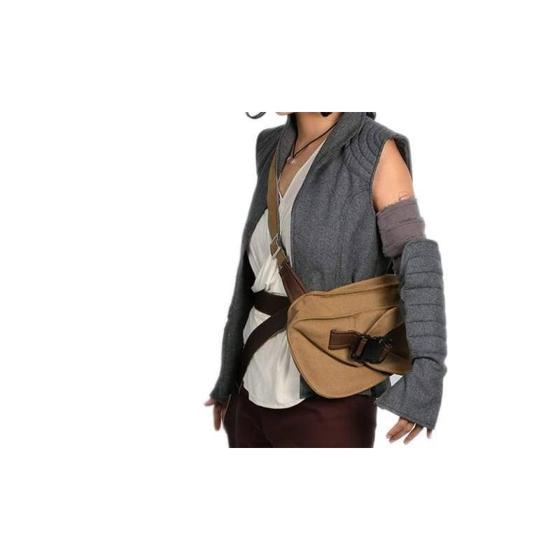 Star Wars Rey Belt With Drop Leg Thigh Holster Pouch Holder - Props 3
