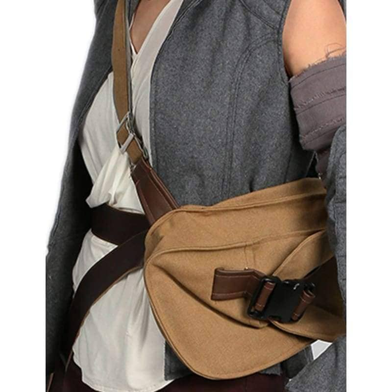 Star Wars Rey Belt With Drop Leg Thigh Holster Pouch Holder - Props 7