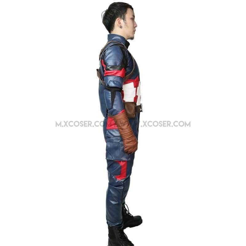 Steve Rogers Costume Captain America 3: Civil War Cosplay Outfits CostumesS- Xcoser International Costume Ltd.
