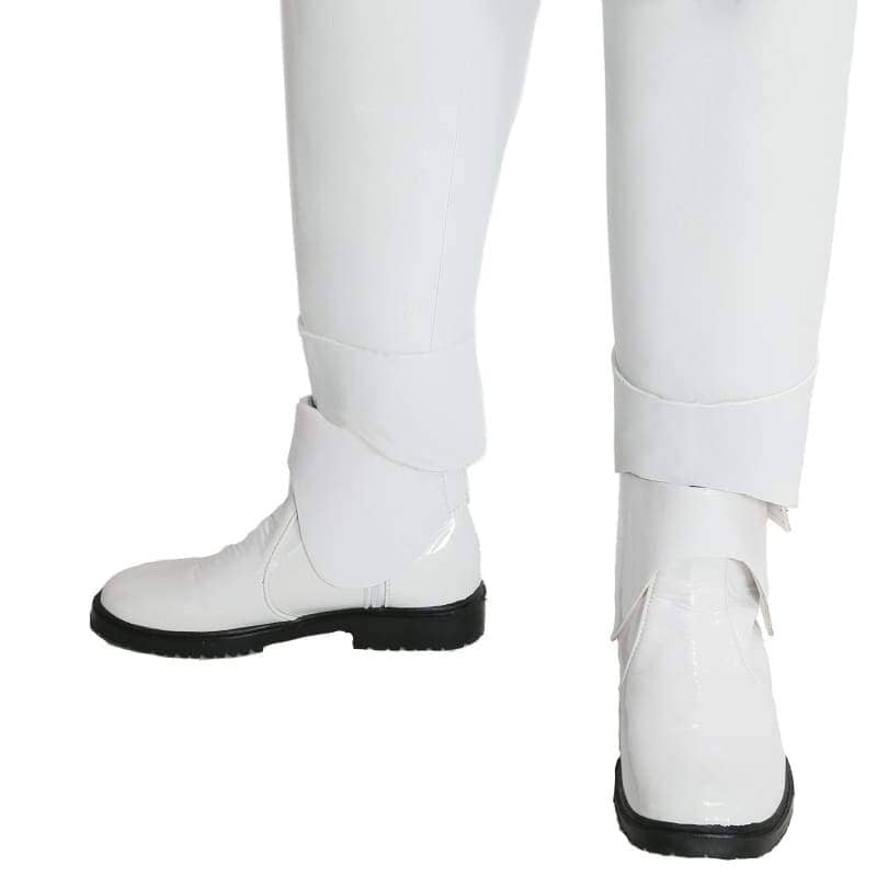 Stormtrooper Shoes Star Wars 7 The Force Awakens Cosplay Accessory White Pu Adult Armor Costume Velcro - 45 - Boots 1