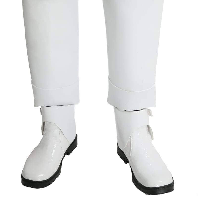 Stormtrooper Shoes Star Wars 7 The Force Awakens Cosplay Accessory White Pu Adult Armor Costume Velcro - Boots 3