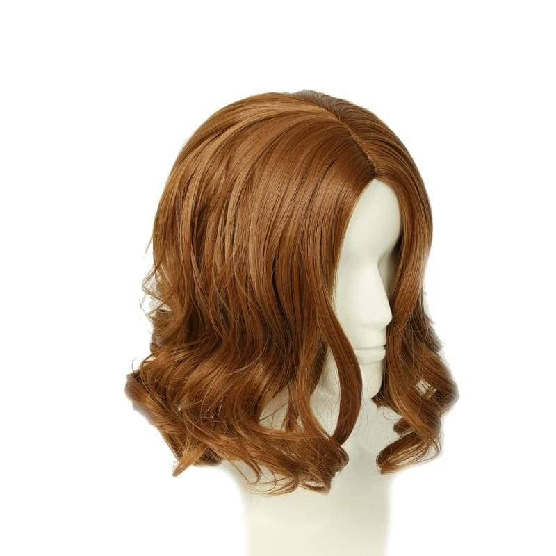 Tarzan Of The Apes Wig Brown Wavy Cosplay Accessory - Wigs 5