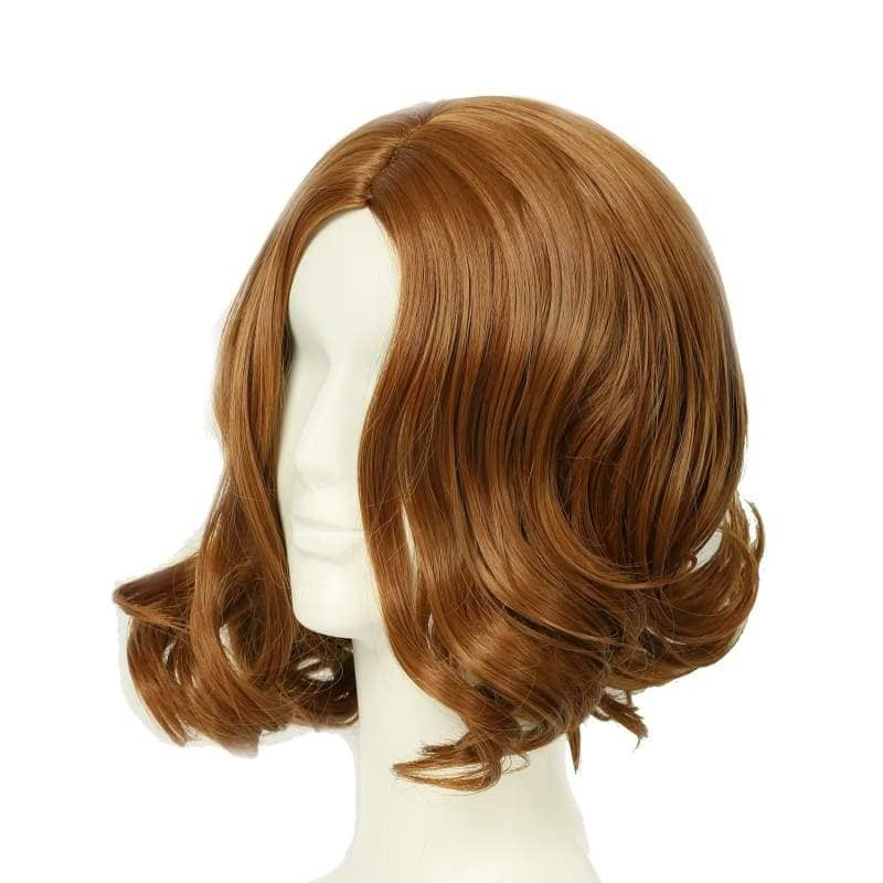Tarzan Of The Apes Wig Brown Wavy Cosplay Accessory - Wigs 2