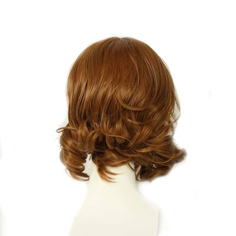 Tarzan Of The Apes Wig Brown Wavy Cosplay Accessory - Wigs 4
