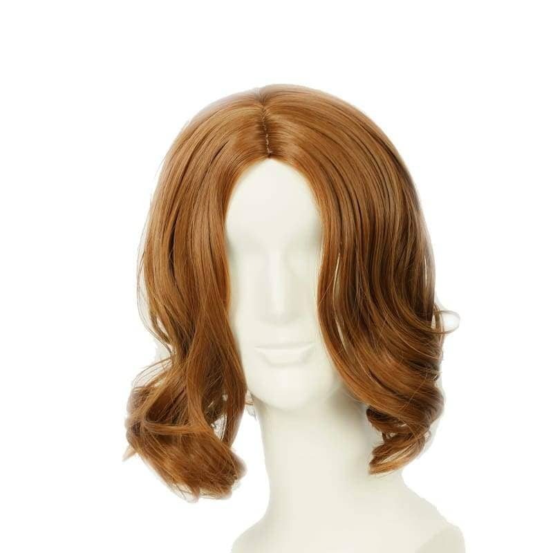 Tarzan Of The Apes Wig Brown Wavy Cosplay Accessory - Wigs 1