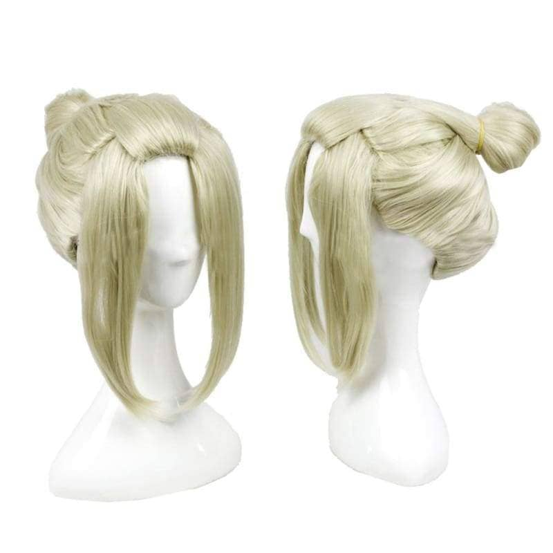 Tsukuyo Wig Gintama Anime Cosplay Short Blonde Hair - Wigs 1
