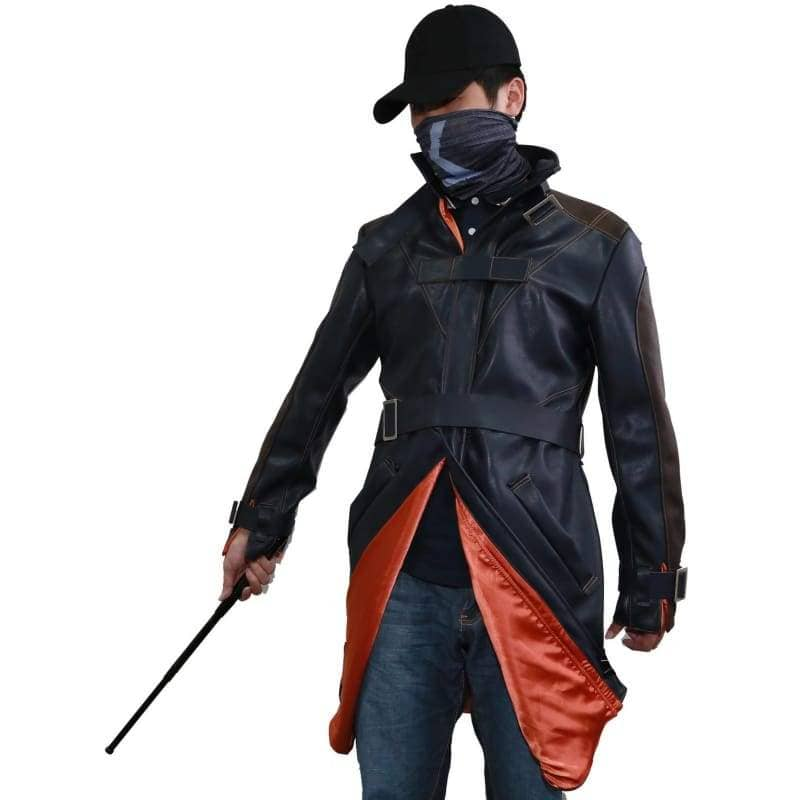 Watch Dogs Black Mask Hat Aiden Pierce Stick - Props 2