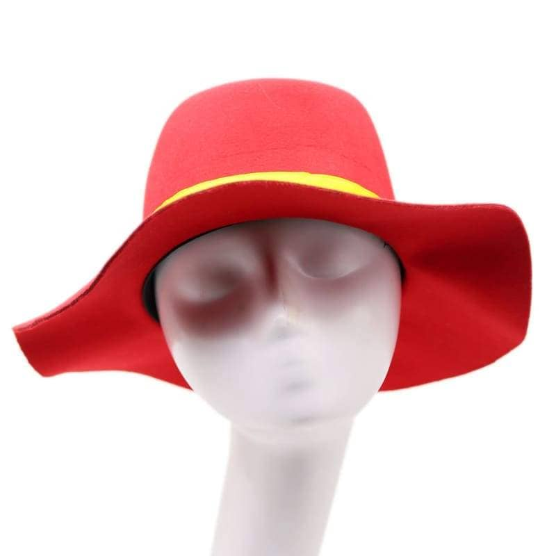 Where On Earth Is Carmen Sandiego Hat Red Cosplay Accessories - Hats 1