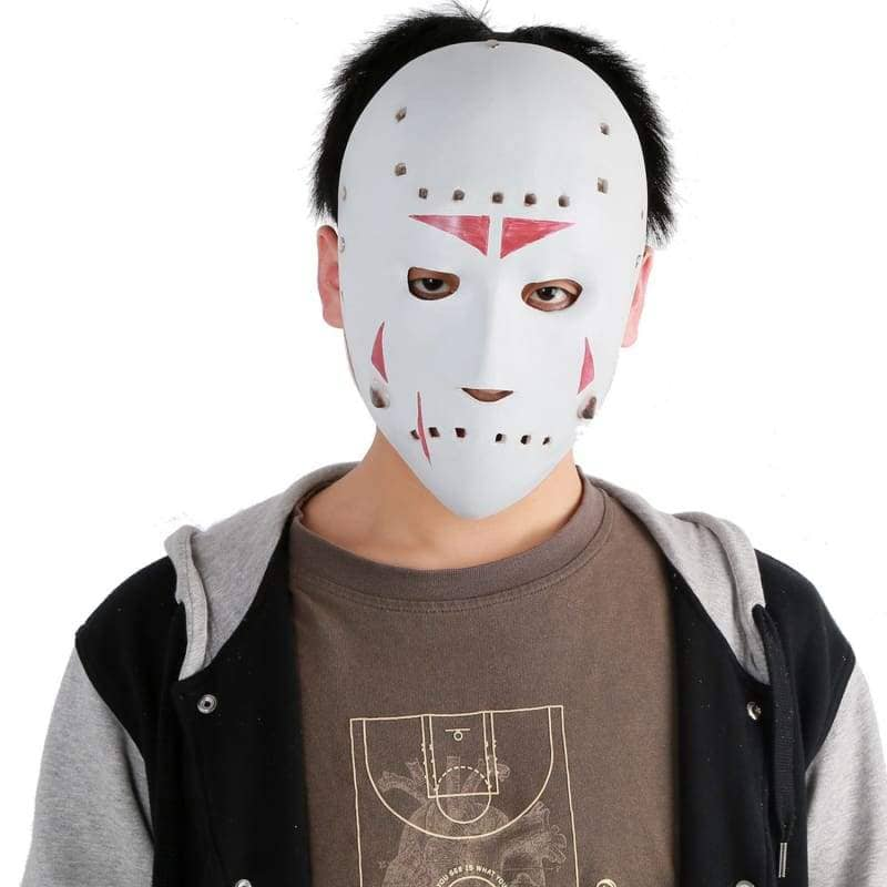 White Jason Voorhees Mask For Sale Grand Theft Auto 5 Black - 4