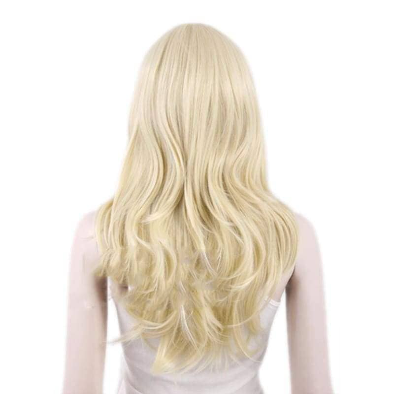 X-Men Emma Frost Wig Long Curly Hair Cosplay Accessories - Wigs 2