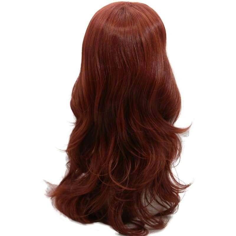 X Men Rogue Wig Movie Cosplay Costume Long Curly Hair Accessories - Wigs 2
