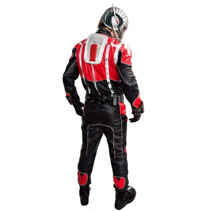 Xcoser Ant-Man Cosplay Black And Red Costume - Costumes 5