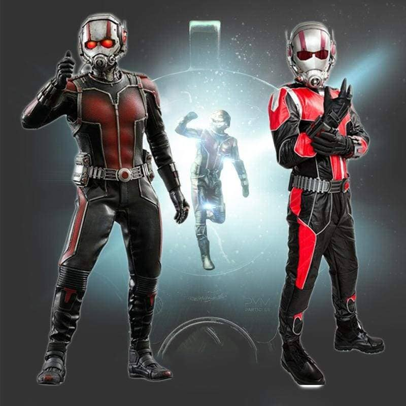 Xcoser Ant-Man Cosplay Black And Red Costume - Costumes 1