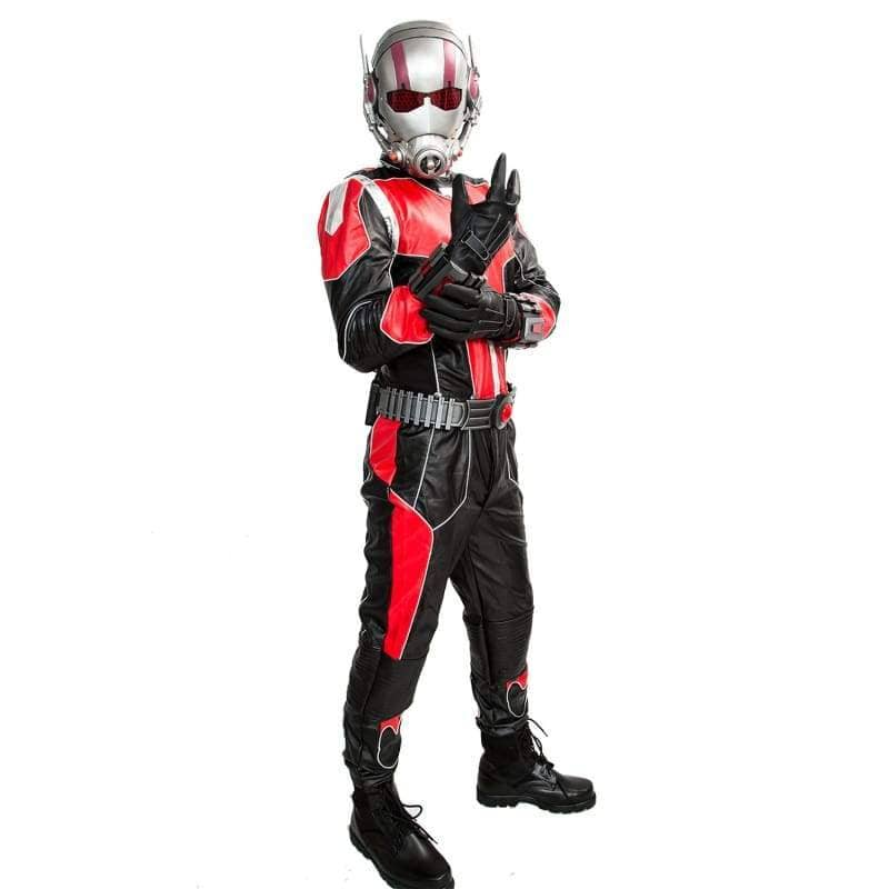 Xcoser Ant-Man Cosplay Black And Red Costume - Costumes 3
