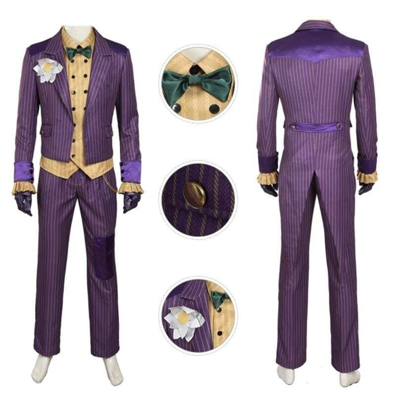 Xcoser Batman: Arkham Asylum Joker Cosplay Costume CostumesS- Xcoser International Costume Ltd.
