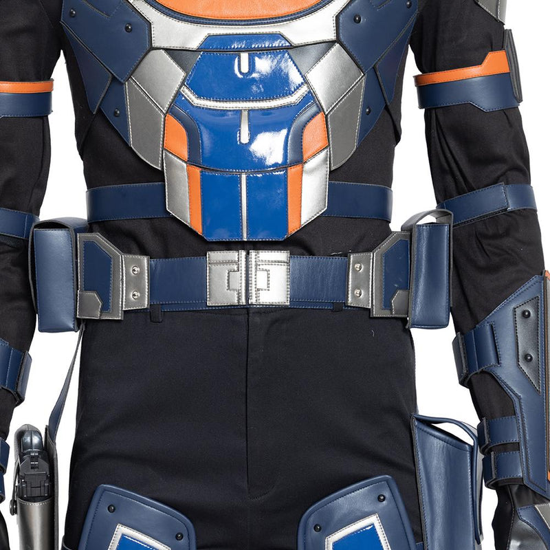 "Xcoser Black Widow Taskmaster Anthony ""Tony"" Masters Cosplay Costume CostumesS (without mask and boots)- Xcoser International Costume Ltd."