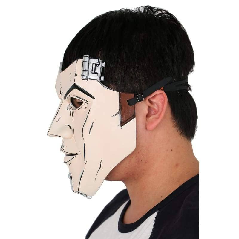 Xcoser Borderlands Handsome Jack Deluxe Resin Mask Cosplay And Halloween Props With Logo - 3