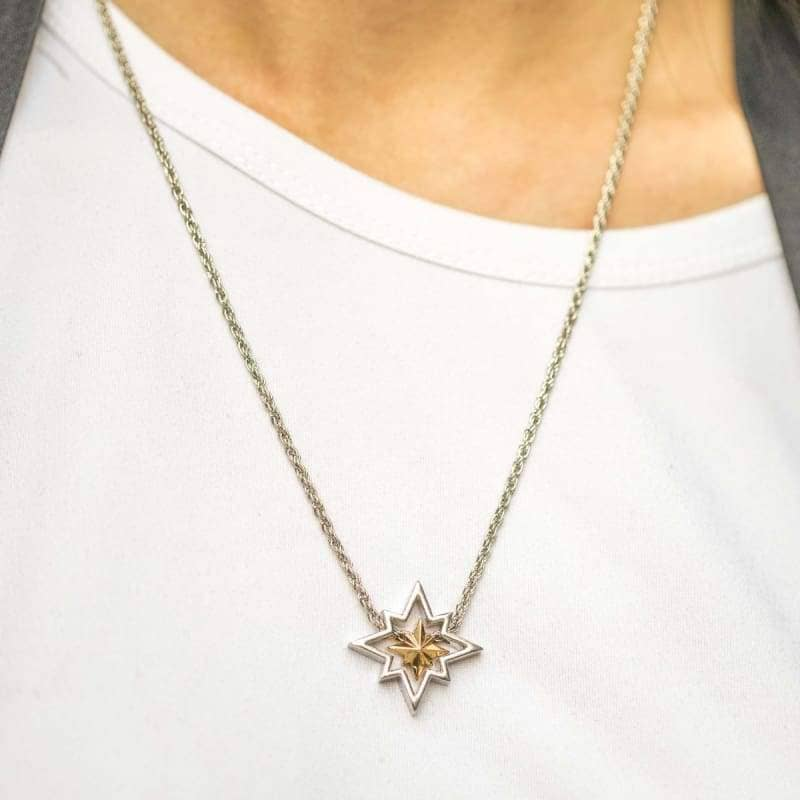 XCOSER Captain Marvel Necklace Zinc Alloy Detachable Cosplay Accessory Jewelry- Xcoser International Costume Ltd.